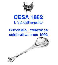 CUCCHIAIO CESA 1882  COLLEZIONE CELEBRATIVA ANNO 1992  POSATA ARGENTO 925