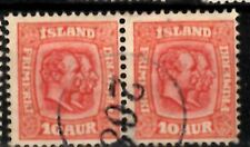 Iceland Number cancel #208 used in Siglufjordur