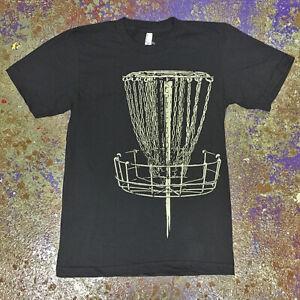 Disc Golf Basket T-shirt - Lightweight-Comfy-Ultra Soft Jumbo Discharge Print 🌞