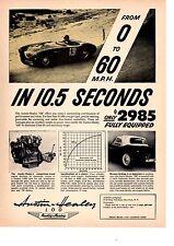 1955 AUSTIN-HEALEY 100  ~  ORIGINAL PRINT AD