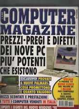 COMPUTER MAGAZINE 1 settembre 1997 i computer più potenti rivista windows98