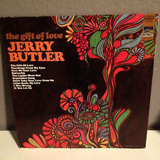 JERRY BUTLER - The Gift Of Love - Vinyl LP Record - EX - Sunset Records