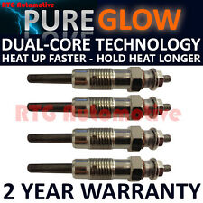 4x Diesel Heater Glow Plugs For Citroen Fiat Ford Mazda Peugeot Renault Vauxhall