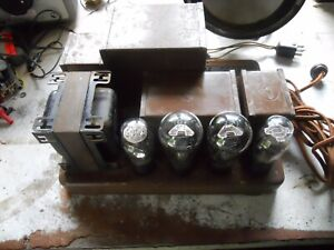 Vintage RCA type 245 Triode UX245   Tube Amplifier 1930