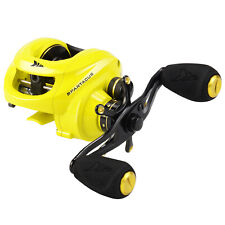 KastKing Spartacus 6.3:1 12BB Super Smooth Baitcaster Fishing Reel Yellow - Left