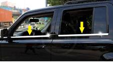 S/Steel under Window Trim sill trim Chrome Molding For Jeep Patriot 2007-2017