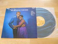 LP An Evening with Belafonte Makeba Vinyl Victor France 740.650 ( LSP 3420 )