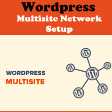 Install Wordpress Multisite,Setup Subsite with Theme & Plugins Wordpress Website
