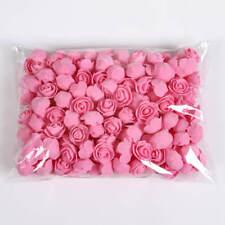 50Pcs Of Roses 3cm Foam Wedding Decoration Flowers Christmas Deco Artificial