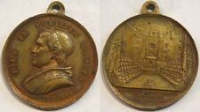 Vaticano medaglia papa Pio IX anno XXIV aapertura concilio ecumenico 1869