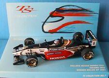 DALLARA MUGEN HONDA F301 #6 TAKUMA SATO WINNER MACAU GP 2001 MINICHAMPS 1/43 F1