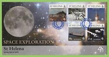 St Helena 2009 Space Exploration set on First Day Cover
