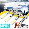 4Pcs Car H1 COB LED Headlight Hi/Lo Beam DRL Driving Light Lamp Bulb White 6000K