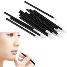 100PCS Disposable Makeup Lips Brush Lipstick Gloss Wands Applicator Make Up H-M