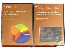 Great Courses Mastering The Fundamentals Of Mathematics & Understanding Calculus