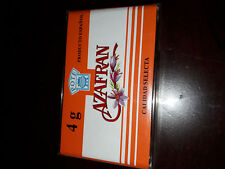 Safran en Pistil d' Espagne 4 g- épices- pur de qualité