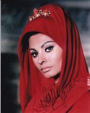SOPHIA LOREN Signed Autographed Photo