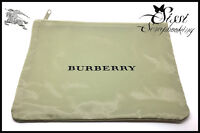 CADEAU SAC BAG POCHETTE BURBERRY TARTAN NOVA CHECK SISSI SCRAP NEUF 22x15 cm
