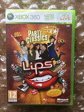 BRAND NEW FACTORY SEALED LIPS PARTY CLASSICS GAME ONLY (NO MICS) FOR XBOX 360