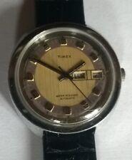 """jolie montre vintage """"TIMEX"""" AUTOMATIC day/date Mvt TIMEX M33 """"FONCTIONNE"""""""