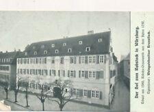 AK, Der Hof zum Rebstock in Würzburg, (G)19304