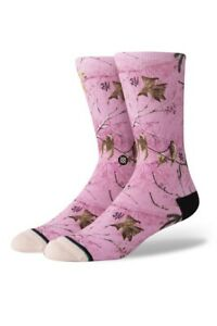 Stance Socks Realtree Camo Pink Hunter Anthem Large 9-12 NWT