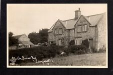 Longhoughton near Alnwick - real photographic postcard