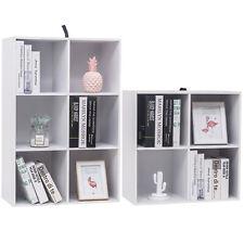 Raumteiler Bücherregal Bücherschrank Standregal Büroregal Weiß #1308