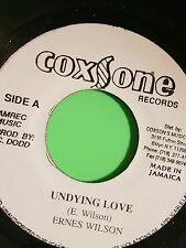 COXSONE RECORDS UNDYING LOVE / VERSON   ERNEST WILSON