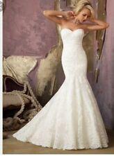 Morilee Mermaid & Trumpet Regular Strapless Wedding Dresses