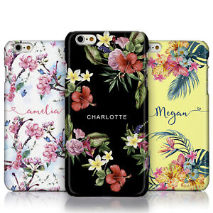 Personalised Floral Botanical Phone Case for Apple iPhone Models