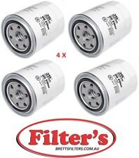 4 OIL FILTER FOR TOYOTA C1112 WZ334NM FILTERS Landcruiser 1HZ 1HDT 4.2L 70 80
