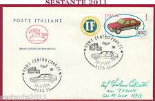 ITALIA FDC CAVALLINO COSTRUZIONI AUTOMOBILISTICHE ITALIANE ALFA 1984 ROMA Y550