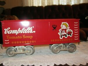 McCoy Standard gauge train Cambell's soup boxcar 277