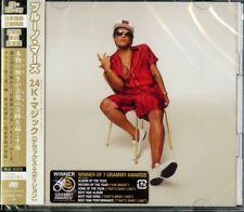 BRUNO MARS-24K MAGIC (Deluxe Edition)-JAPAN ONLY CD+BLU-RAY BONUS TRACK J21