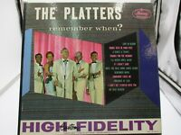 THE PLATTERS  Remember When? LP Mercury Records MG 20410 VG+ cover VG++