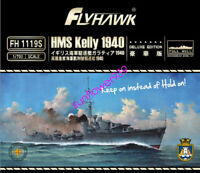 Flyhawk 1/700 FH1119S HMS Kelly 1940 Deluxe Edition Full Hull Unassembled Model