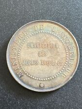 Rare Jeton Argent Institution Jeunes AVEUGLES Ministere Interieur Coin Silver