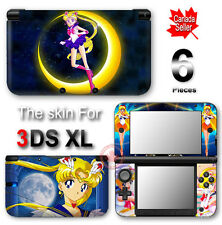 Sailor Moon SKIN VINYL STICKER DECAL COVER for Nintendo 3DS XL