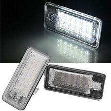 No Error LED Number License Plate Light Lamp for Audi A3 A4 B6 B7 A6 A8 Q7 A5 *