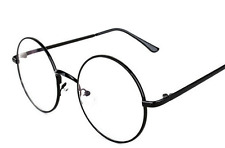BRAND NEW HARRY POTTER ROUND BLACK FRAME GLASSES COSTUME Kids/Adults