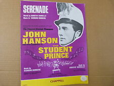 """Canción Hoja Serenata """"el estudiante Prince"""" John Hanson"""