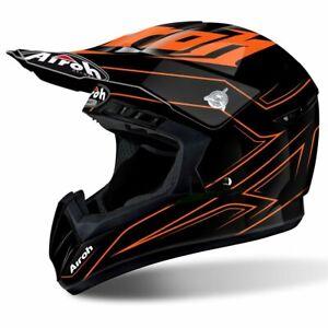 Airoh Switch Spacer motorcycle helmet orange Motocross Off Road Enduro MX