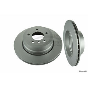One New Meyle Disc Brake Rotor Rear 34318 34216763345 for BMW