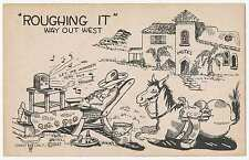 """""""Roughing It"""" Way Out West, Cowboy Comic, Cabot Colt 1945"""