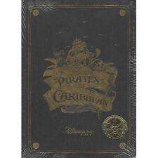 Disneyland Paris - Pirates - Collectable book + coin - english/sealed + Parkmap