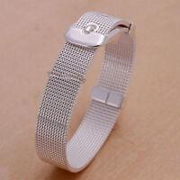 Damenarmband Milnaise 13mm Schmuck 20cm Armband pl. mit Sterlingsilber DA006 Neu