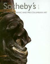 Sotheby's //  African Tribal Art Pre-Columbian Auction Catalog 2005