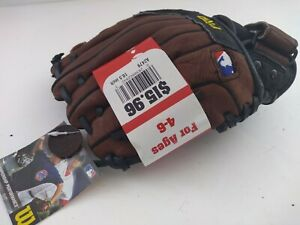 """New! Wilson Pro T-Ball 10 1/2"""" A2479 Glove For Right Handed Thrower! Sku#73"""