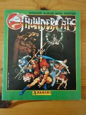 Thundercats Panini Sticker Album 100% Complete with Poster